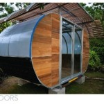 Prefab Housearc Modern Tiny House Assembles Easily But