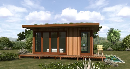 Prefab Kit Homes Green Garages
