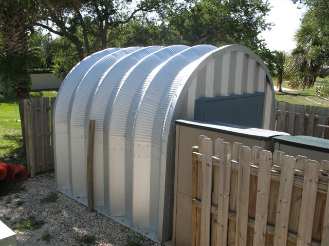 Prefab Metal Shed Storage Sheds