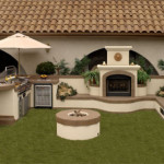 Prefab Outdoor Fireplace Bbq Islands For Your Backyard