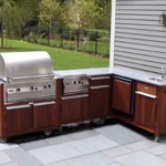 Prefab Outdoor Kitchen Cabinets Custom
