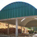 Prefabricated Arch Steel Building For Machinery Storage Flickr