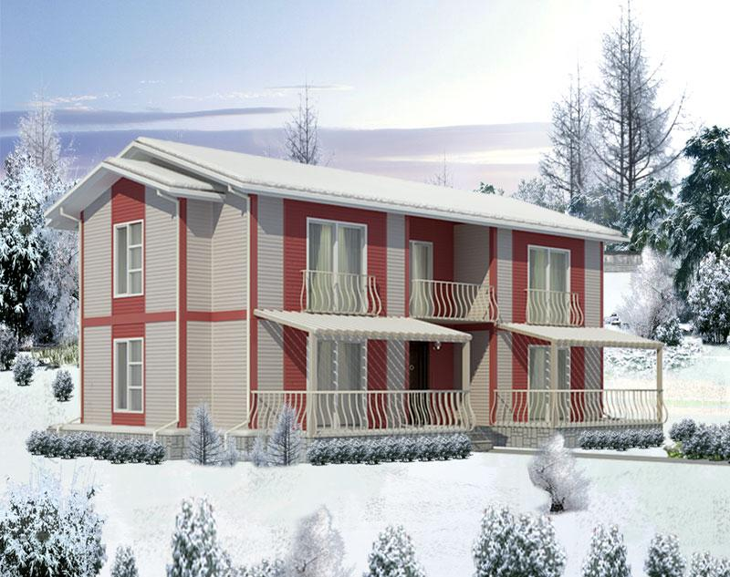 Prefabricated Buildings Construction Site