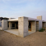 Prefabricated Concrete Home Sonoma County Aligned The