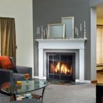 Prefabricated Fireplace After Fansler Traditional
