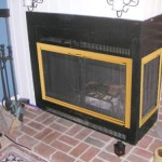 Prefabricated Fireplace Would Use Separate Doors Featuring