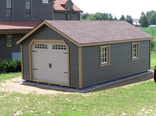Prefabricated Garage Single Garages Still Valley Sheds