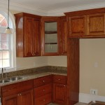 Prefabricated Kitchen Cabinets Stained