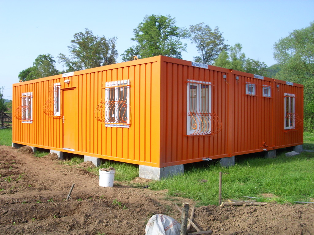 Prefabricated Oil Gas Camp Prefab Houses Building Cabin Container