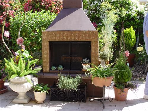 Prefabricated Outdoor Fireplaces How Prefab Fireplace Units Offer