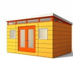 Prefabricated Shed Kit Modern Instals Quickly