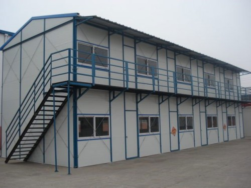 Prefabricated Slope House China Mainland Prefab Houses