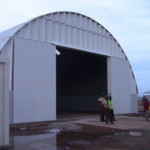 Prefabricated Steel Arch Building Matala Angola Flickr