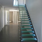 Prefabricated Steel Glass Staircases Stallion Stainless