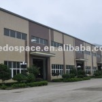 Prefabricated Steel Structure Factory Building View Light