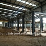 Prefabricated Steel Structure Workshop Warehouse China Mainland
