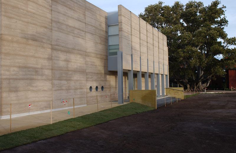 Prefabricated Wall Sections Used Lauriston Girls School Melbourne