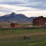 Property Log Home Park County Wyoming Near Cody Powell For Sale