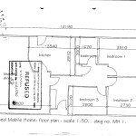 Proposed Mobile Home Floor Plan Scale Dwg
