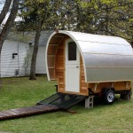 Protostoga Small Mobile Vacation Home That Easier Move