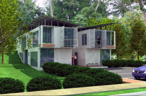 Radical Recycled Shipping Container Homes Visual Remodeling Blog
