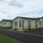 Ranch Mobile Home Park Ipswich Suffolk East England Lodge