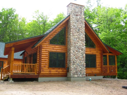 Rated And Green Built Certified Stongwood Log Home Tomahawk Wis