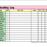 Reading Logs The Notebooking Fairy