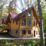 Real Estate Homes For Sale Millersburg Custom Log Home
