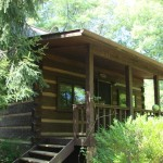 Real Log Cabin For Sale Mountain Road Murphy