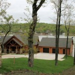 Real Log Homes Since Custom Home