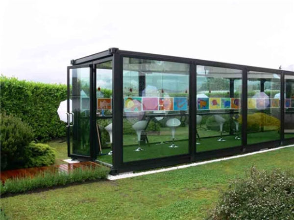 Recycled Houses Made Using Shipping Containers Designbuzz Design