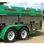 Recycling Trailer Bin Rentals West Yellowhead Recycles