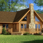 Red River Log Home Cabin Plans Southland Homes