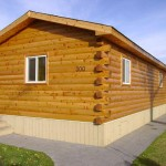 Reface Your Manufactured Home Log Siding