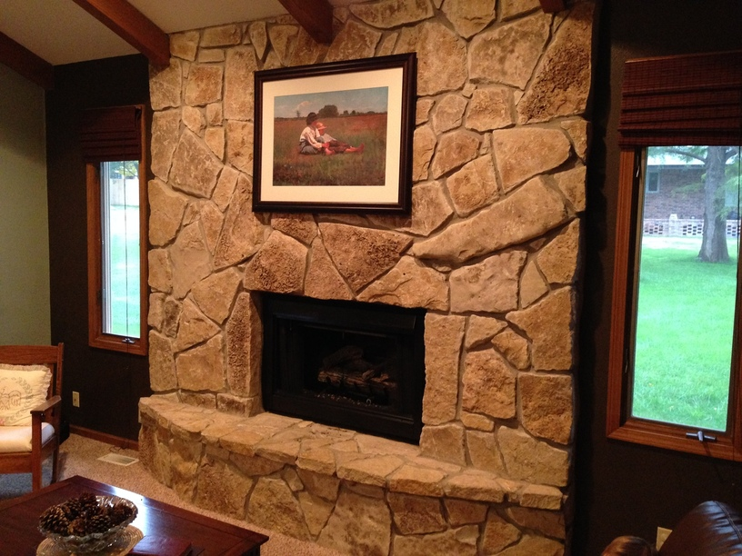 Remove The Fireplace And Install High Efficiency Would
