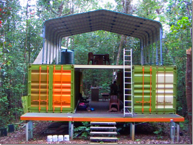 Research Facility Made From Shipping Containers Nothern Queensland