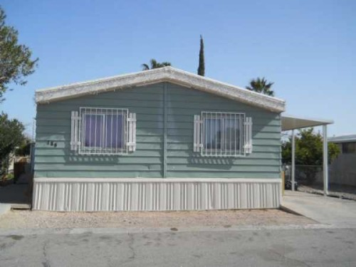 Retirement Living Sahara Mobile Home For Sale Tucson