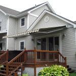 Retractable Dutchess Awning