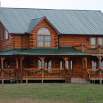 Revealed Log Homes Survive Fires Better Than Stick Frame The
