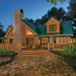 River Log Homes Cabin Home And Landscape Suwannee