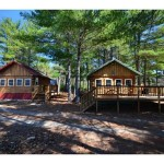 Riverfront Log Cabins Maine For Sale Mattawamkeag
