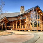 Rmlh Come Down Your Driveway This Authentic Dream Log Homes
