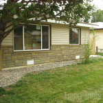 Rock Mobile Home Skirting Pic Fly