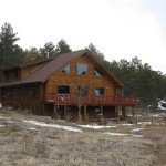Rocky Mountain Log Home Red Feather Lakes Colorado