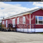 Royalty Free Image New Red Mobile Home