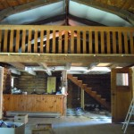 Rustic Log Home Moved From The Valley Canning Nova Scotia