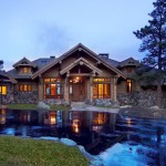 Rustic Log Home Tkp Architects
