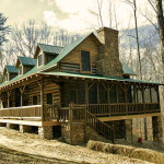 Rustic Log Homes The Luney Bend