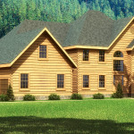 Rutherford Log Home Cabin Plans Southland Homes